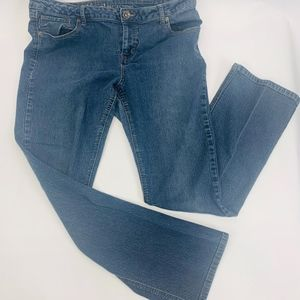 Natural Reflections Womens Jeans 14A Blue Mid Rise